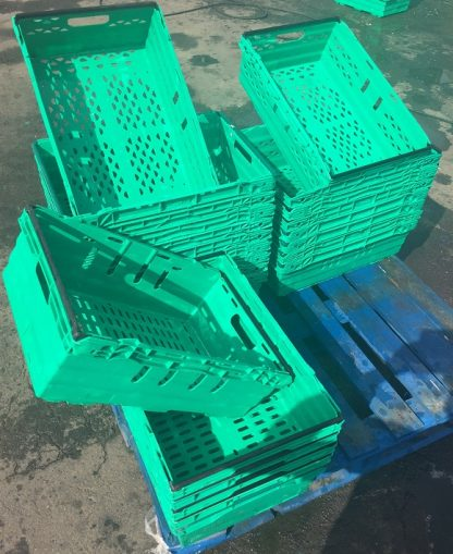 Bale Arm Crates Cleaned