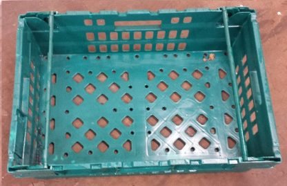 600x400x200 Bale Arm Crate - Green - Green Arms