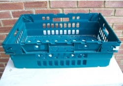 600x400x300 Bale Arm Crate Green - Green Arms