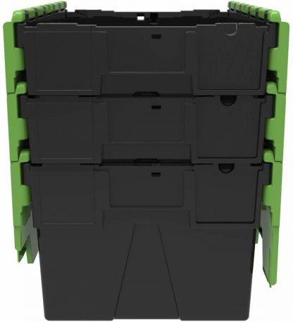 600x400x310 alc Black - Green Lid