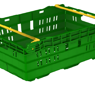 400x300x180 Bale Arm Crate
