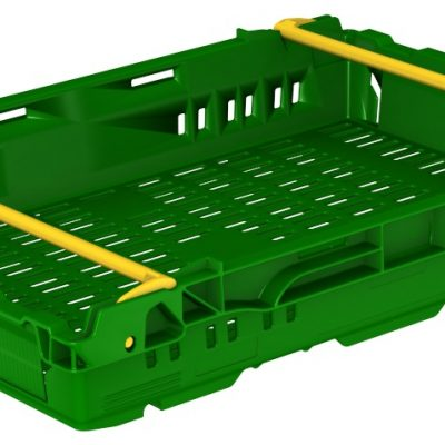 600x400x106 Green Bale Arm Crate