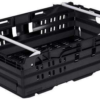 400x300x180 Black - Bale Arm Crate