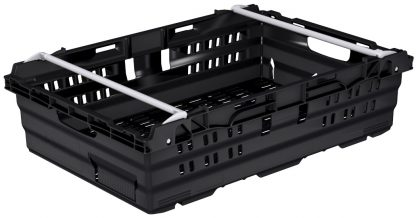400x300x180 Black - Bale Arm Crate