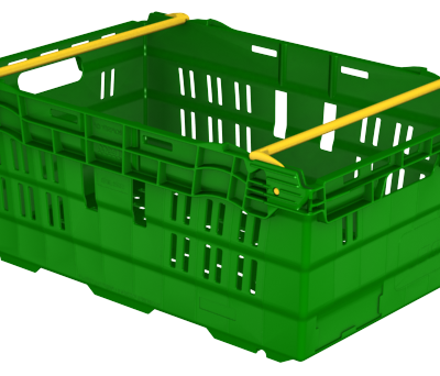 600x400x245 Green Bale Arm Crates