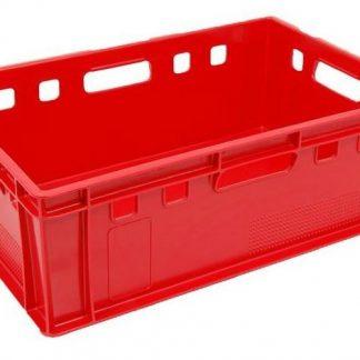 600x400x200 Eurobox Solid Red