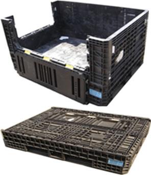 1630x1220x865 Folding Pallet Box Used